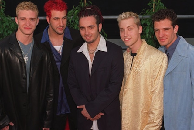NSYNC FASHION FAIL