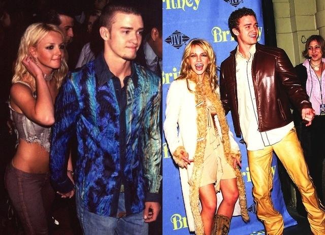 Justin Timberlake britney spears fashion fail