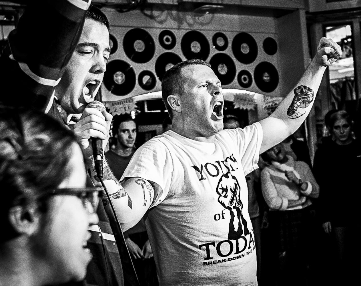 Uk punk hardcore scene