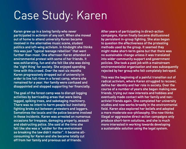 case study of karen Task: read the case study about a person with a disability (far beyond what a general classroom teacher would need to know --but brainstorm anyway) and dialogue about the following:.