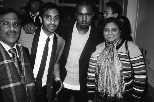 Photo of Aziz Ansari & his  Father  Shoukath Ansari